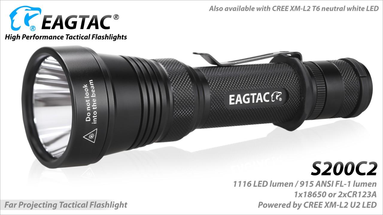 EAGTAC S200C2, Cree XP-L HI V3