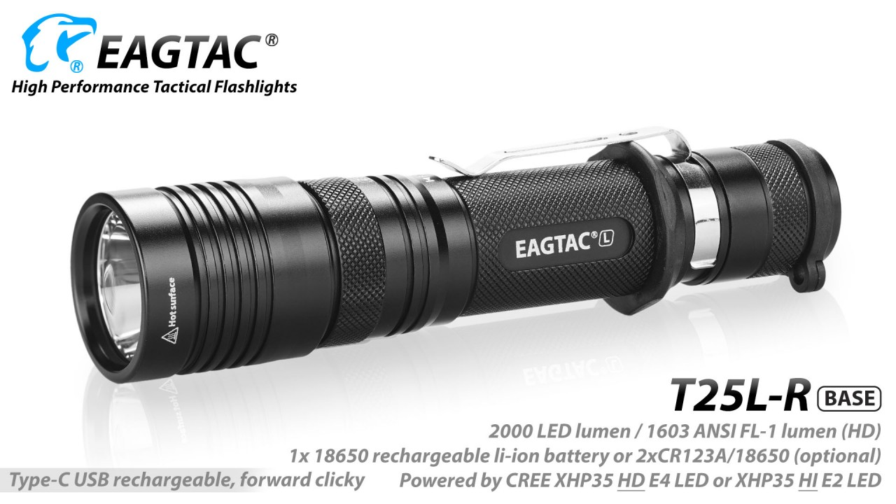 EAGTAC T25L-R MKII, base