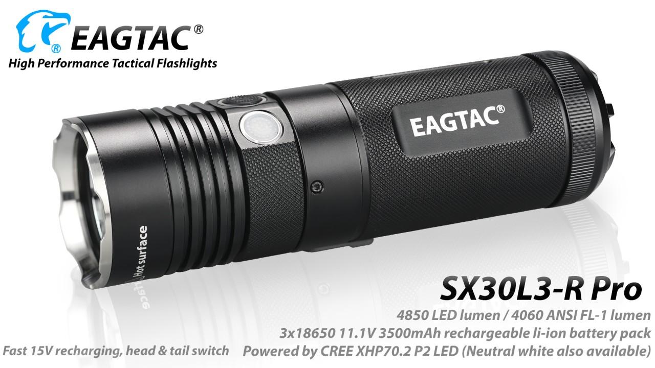 EAGTAC SX30L3-R PRO, XHP70.2